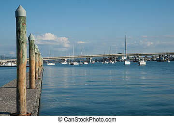 Pier and harbour view.