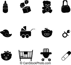 baby icons - for baby stuff, newborn, toddler and others