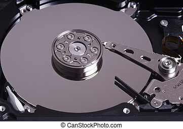 Hard disk - Internal hard disk and needle