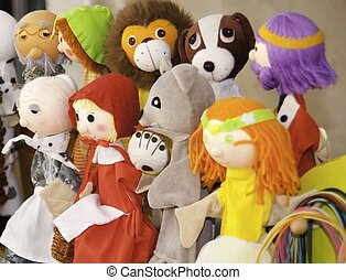 Rag dolls of the classical children's stories