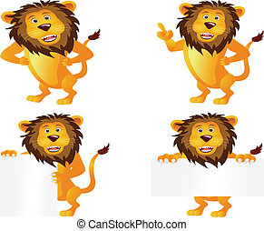 lion cartoon collection