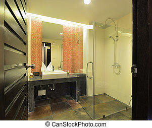 Bathroom design - Luxury bathroom interior design for modern...