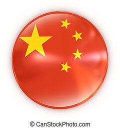badge- Chinese flag