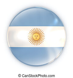 badge - Argentinian flag