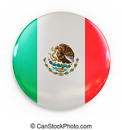 badge - Mexican flag