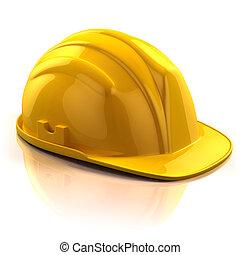 construcción, casco