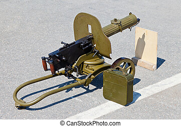 "Historical weapon machine gun ""Maxim"""