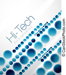 Abstract straight lines background - Circle straight blue...