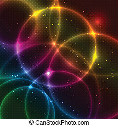 Abstract Design Background - Abstract design background with...