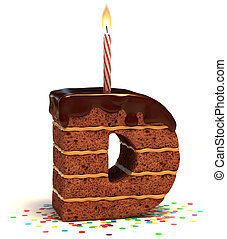 """letter """"D"""" shaped chocolate cake - letter """"D"""" shaped..."""