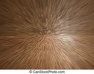Brown explosion - image of unusual brown and white explosion...
