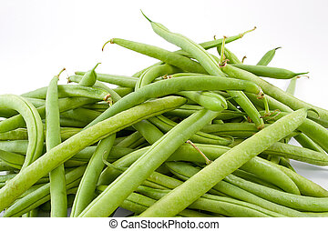 green beans - freshly picked green beans, seasoned with...
