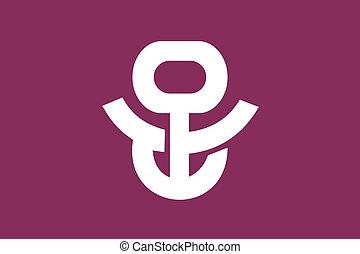 Adachi ku flag - Various vector flags, state symbols,...