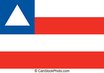 Bahia state flag - Various vector flags, state symbols,...