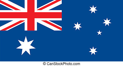 Australia flag - Various vector flags, state symbols,...