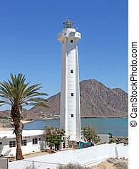 Lighthouse at San Felipe, Baja - Lighthouse in San Felipe,...
