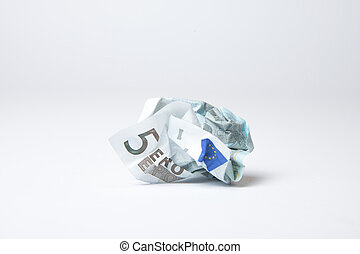 Devaluated Euro - Concept of devaluated euro