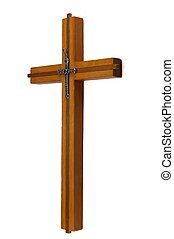 Wood cross.