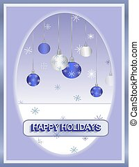 Ornament Holiday Card
