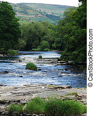 river dee - Photo of River Dee in Llangollen