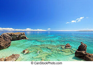 Okinawa, paradise, tropical, sea