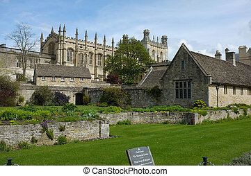 Christ church college - Entrance to Christ Church College,...