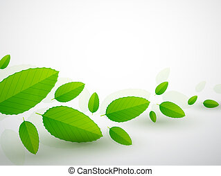 Nature leaves background