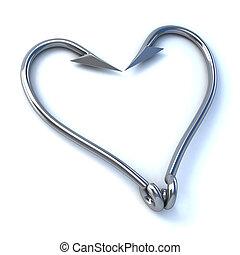 hook up / love 3d concept illustration