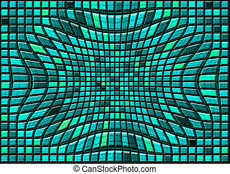 abstract distortion tiled background