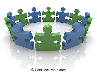 3d puzzle group