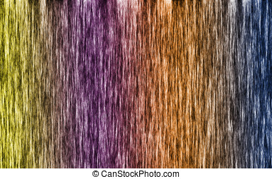 Hair style abstract background colorful
