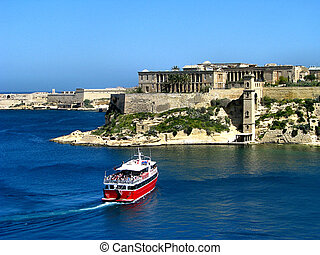 Boat Trip - A boat trip around Ta Bighi, limits of Kalkara,...
