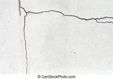 Grunge cracked concrete wall