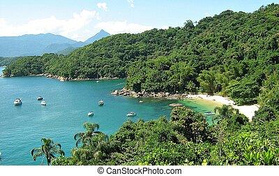 paraiso - mar azul