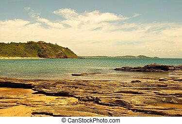 mar calmo - paisagem