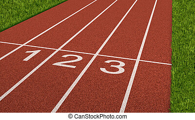 Competition Sport Track