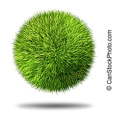 Environmental Conservation Grass Ball - Environmental...