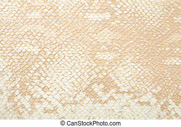 Snake skin - Seamless texture background white snake leather...