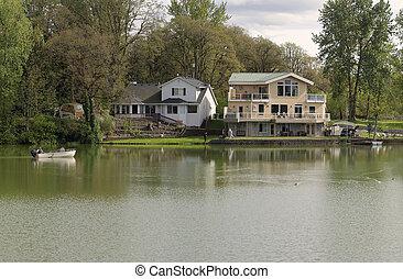 Riverfront properties, Woodland WA.