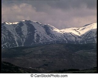LAQUILA Gran Sasso mountains cold - Gran Sasso Mountains,...