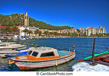 City Ploce Croatia - This is little town called Ploce in...