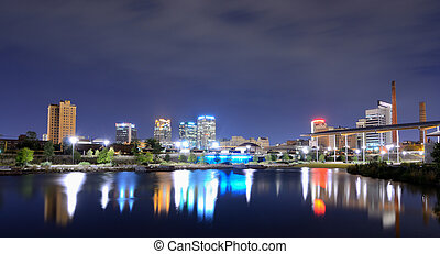 Birmingham, Alabama Skyline - Skyline of Birmingham, Alabama...