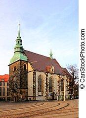 Frauenkirche in Goerlitz - Old temple in Goerlitz, Saxony,...