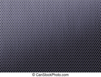 Carbon fiber background, black texture