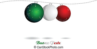 Christmas Italian background