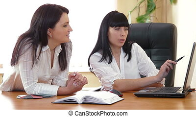 Designers Meeting - Two designers working together