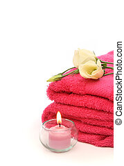 Spa treatment products - Wellness and relax, spa and aroma...