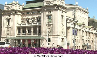 National Theatre, Belgrade - National Theater, Belgrade...