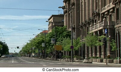 Kneza Milosa street, south, 720p - Belgrade, south, HD720p