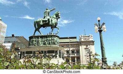 Monument, Knez Mihailo, Belgrade - Monument, Belgrade,...
